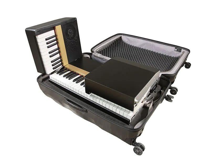 Piano Phoenix dans une valise